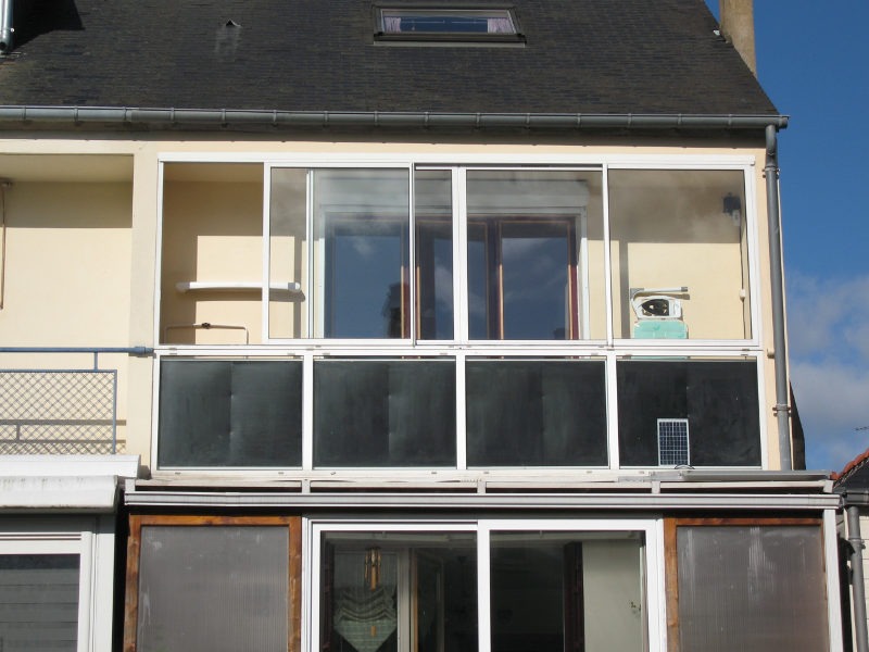 Installation solaire thermique for Bow window maison