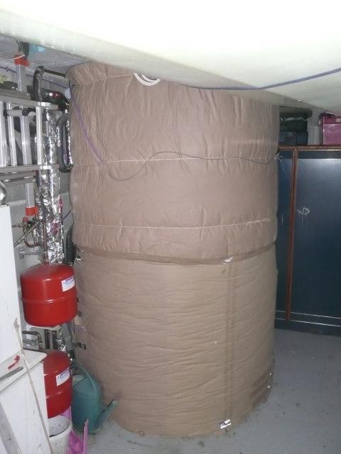 installation d'isolation de garde solaire