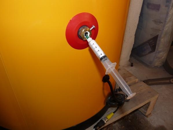 Installation solaire thermique for Faire un joint filasse