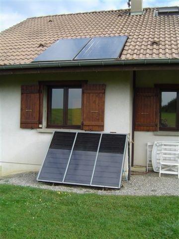 Installation solaire - Liquide caloporteur panneau solaire ...