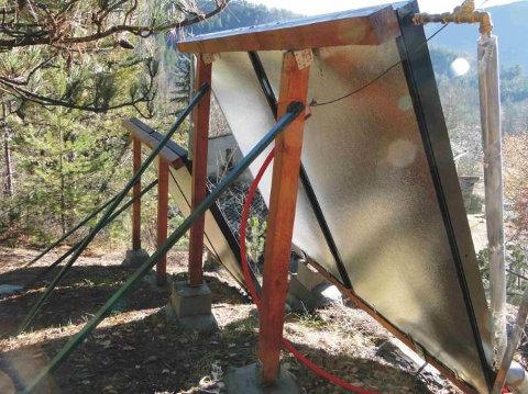 Chauffe eau solaire maison chauffe eau solaire simsek for Chauffe piscine au bois maison