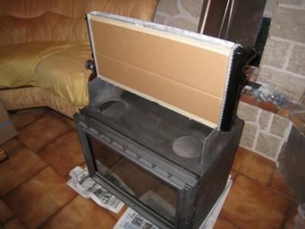 insert avec changeur sur plancher chauffant. Black Bedroom Furniture Sets. Home Design Ideas