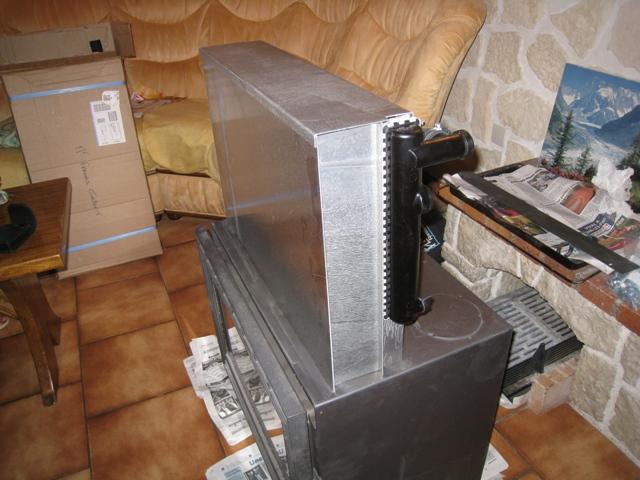 echangeur air air maison Le boîtier de lu0027échangeur couvre les deux bouches du0027air avant.