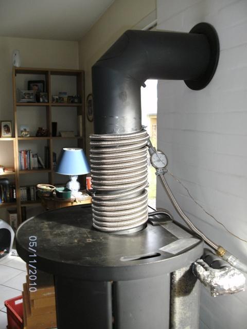 Gireaudot jean chauffage solaire plancher direct - Recuperateur de chaleur pour poele a bois ...