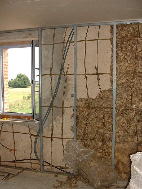 Isolation mur interieur placo isolation des murs par l for Doublage mur interieur