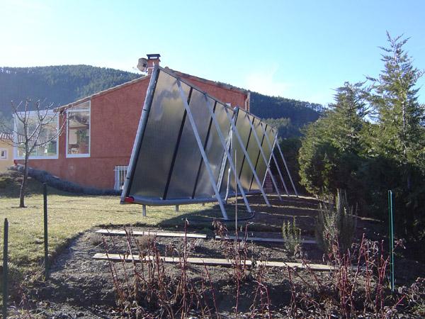 chauffage solaire direct en plancher chauffant massloff. Black Bedroom Furniture Sets. Home Design Ideas