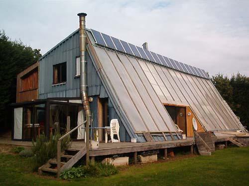 R1pelou maison bioclimatique auto construite - La maison bioclimatique ...