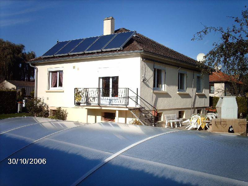 Roussel for Installation chauffage solaire piscine