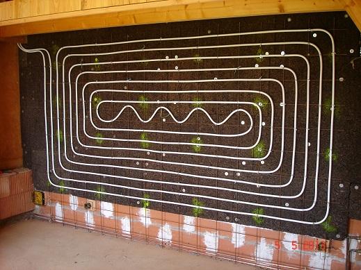 Mur chauffant a inertie - Mur chauffant electrique ...