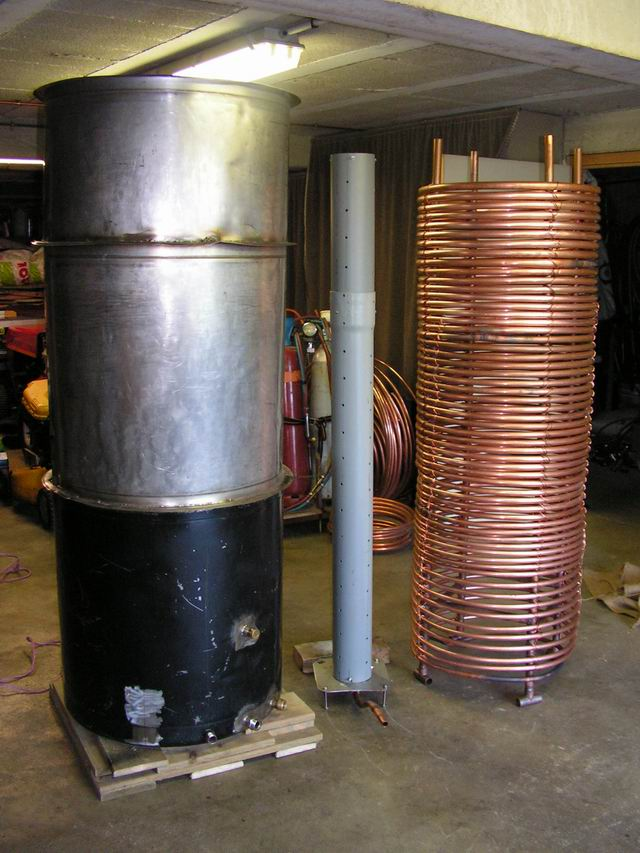 Auto construction for Chauffe eau cuve inox