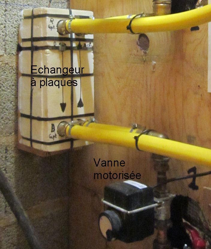 Fabrication d un ballon solaire combin tout inox for Echangeur air air maison